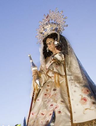 The Virgin de la Antigua, patron saint of the city