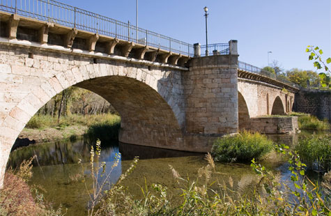 10th century bridge over the river Henares