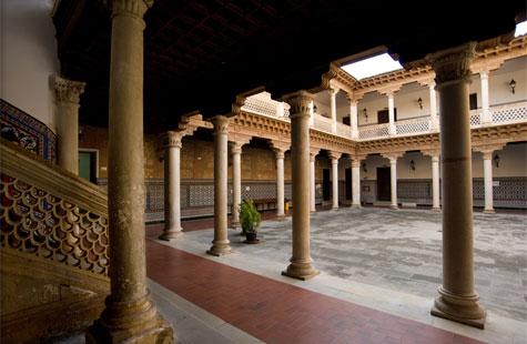 Convento de la Piedad y palacio de Antonio de Mendoza