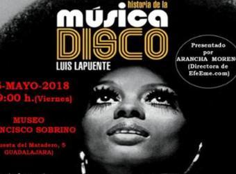 Presentación del libro Historia de la música disco