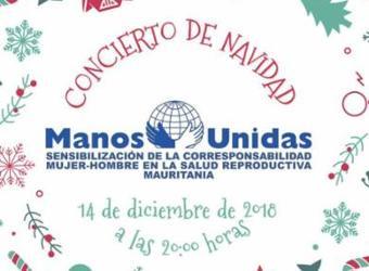 Concierto de Navidad 2018. Manos Unidas