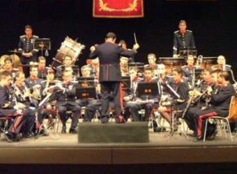Concierto. Unidad de música de la Guardia Real