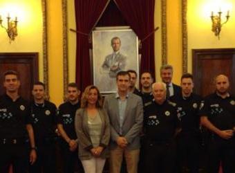 Seis nuevos policías locales prestan desde hoy servicio en Guadalajara