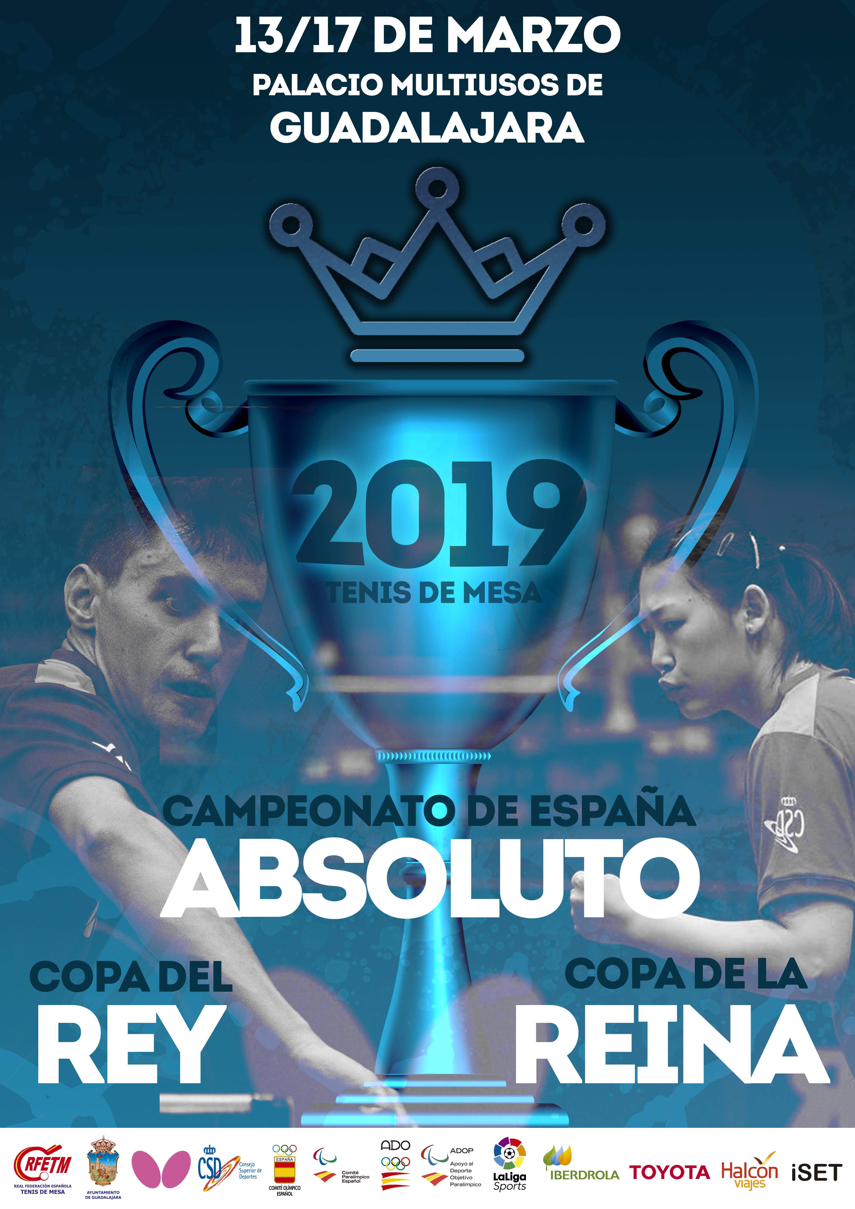 Mañana arranca en el Multiusos el Campeonato de España y   Copas de SSMM los Reyes 2019 de Tenis de Mesa