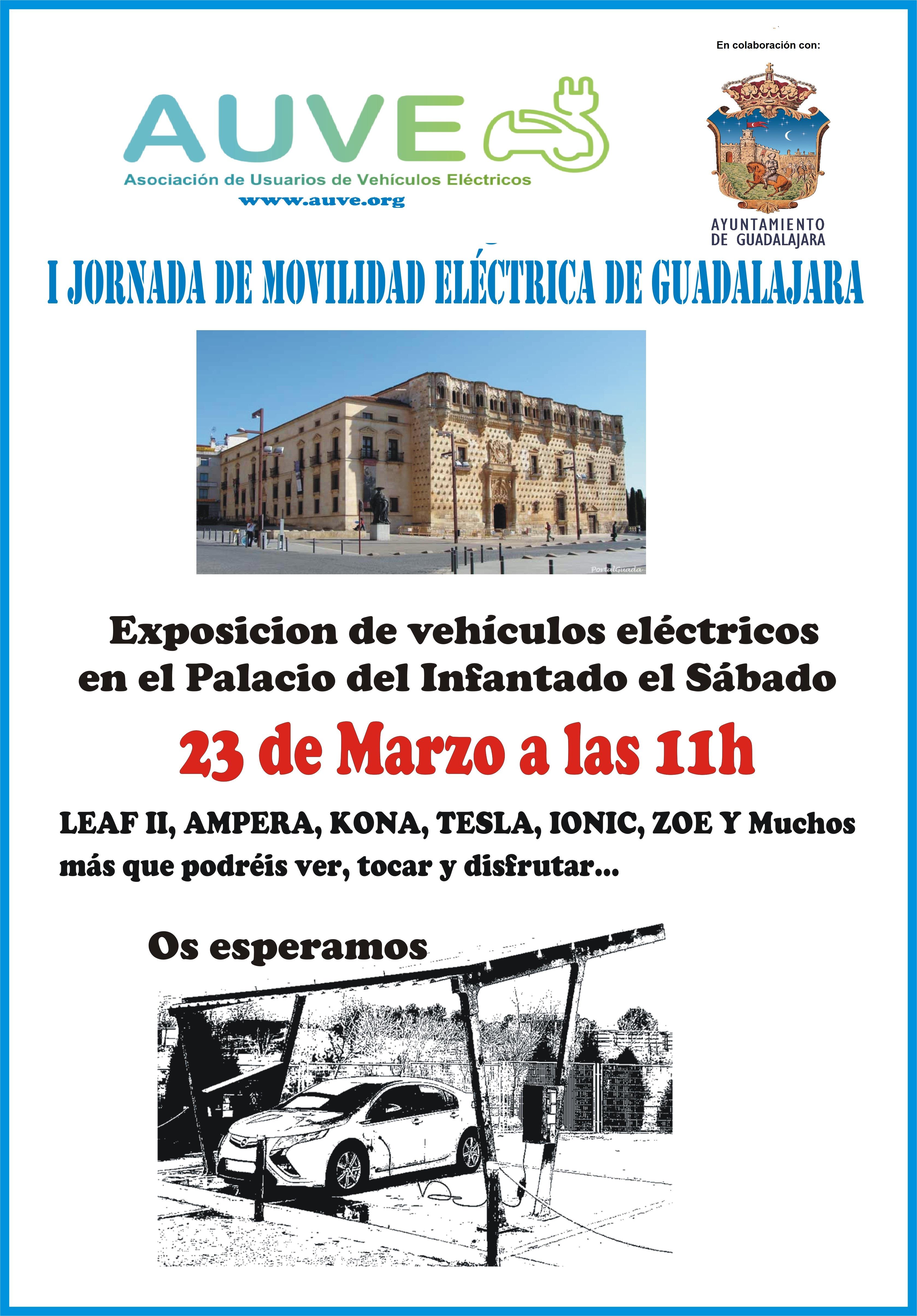 El Ayuntamiento colabora con  la Asociación de Usuarios de Vehículo Eléctrico para divulgar las ventajas de la movilidad  eléctrica