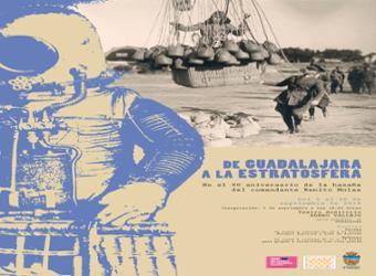 """La  sala de exposiciones del TABV acoge la muestra  """"De Guadalajara a la Estratosfera"""""""