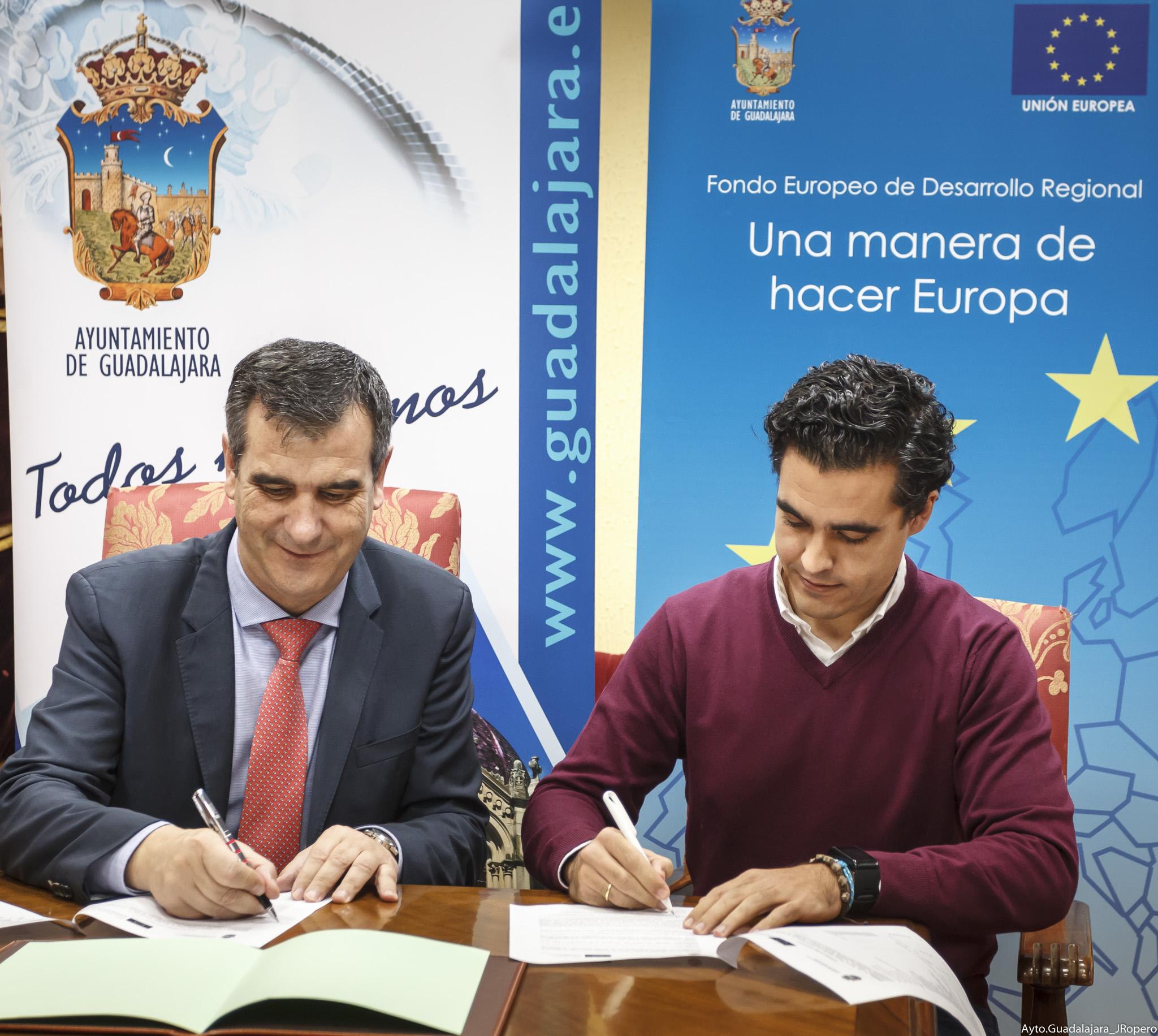 El Ayuntamiento de Guadalajara instalará una red de comunicaciones inalámbricas municipal