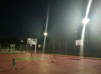 El Ayuntamiento de Guadalajara mejora la iluminación de las instalaciones deportivas municipales