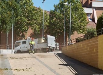 A partir del lunes, la céntrica barriada de La Rambla será objeto de una actuación integral de limpieza y mantenimiento