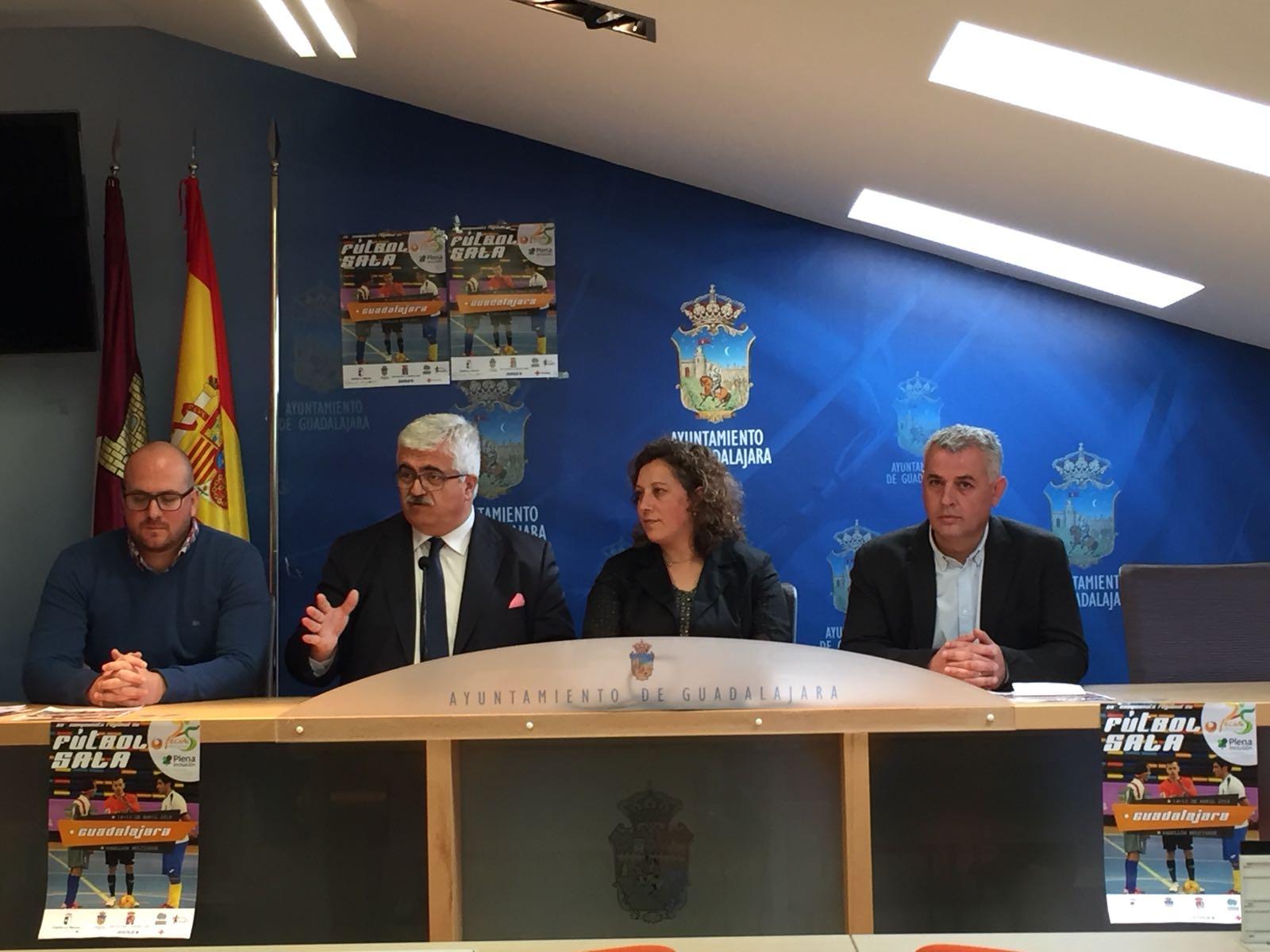Guadalajara un año más recibe el regional de Fútbol Sala