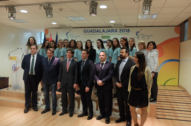 Las mejores gimnastas de Europa y el Mundo, en Guadalajara del 1 al 3 de junio