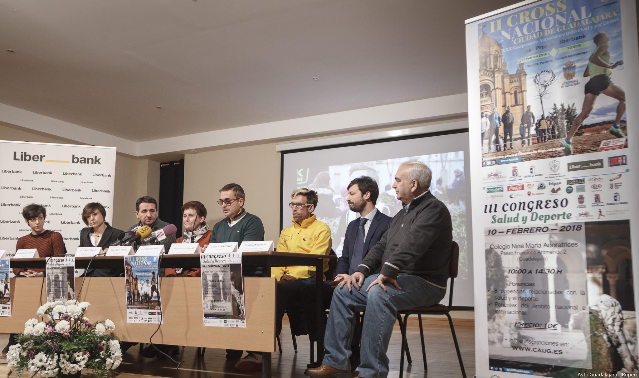 """Unos 1.000 atletas se darán cita en el II Cross Nacional """"Ciudad de Guadalajara"""", que incluye  el XXX Campeonato Regional individual y por equipos"""