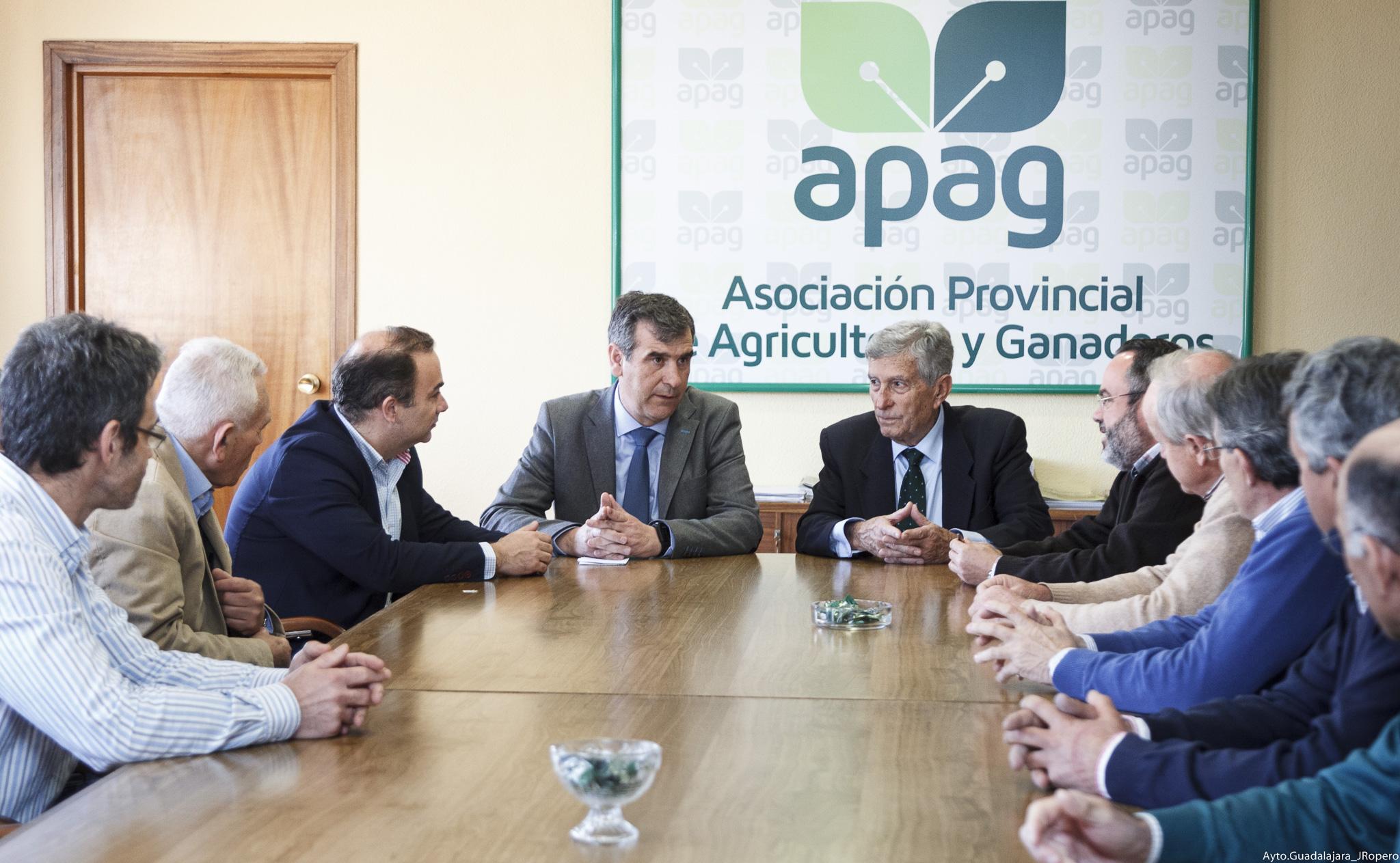 """Román: """"La conexión Beleña – Alcorlo es necesaria para Guadalajara y sus agricultores"""""""