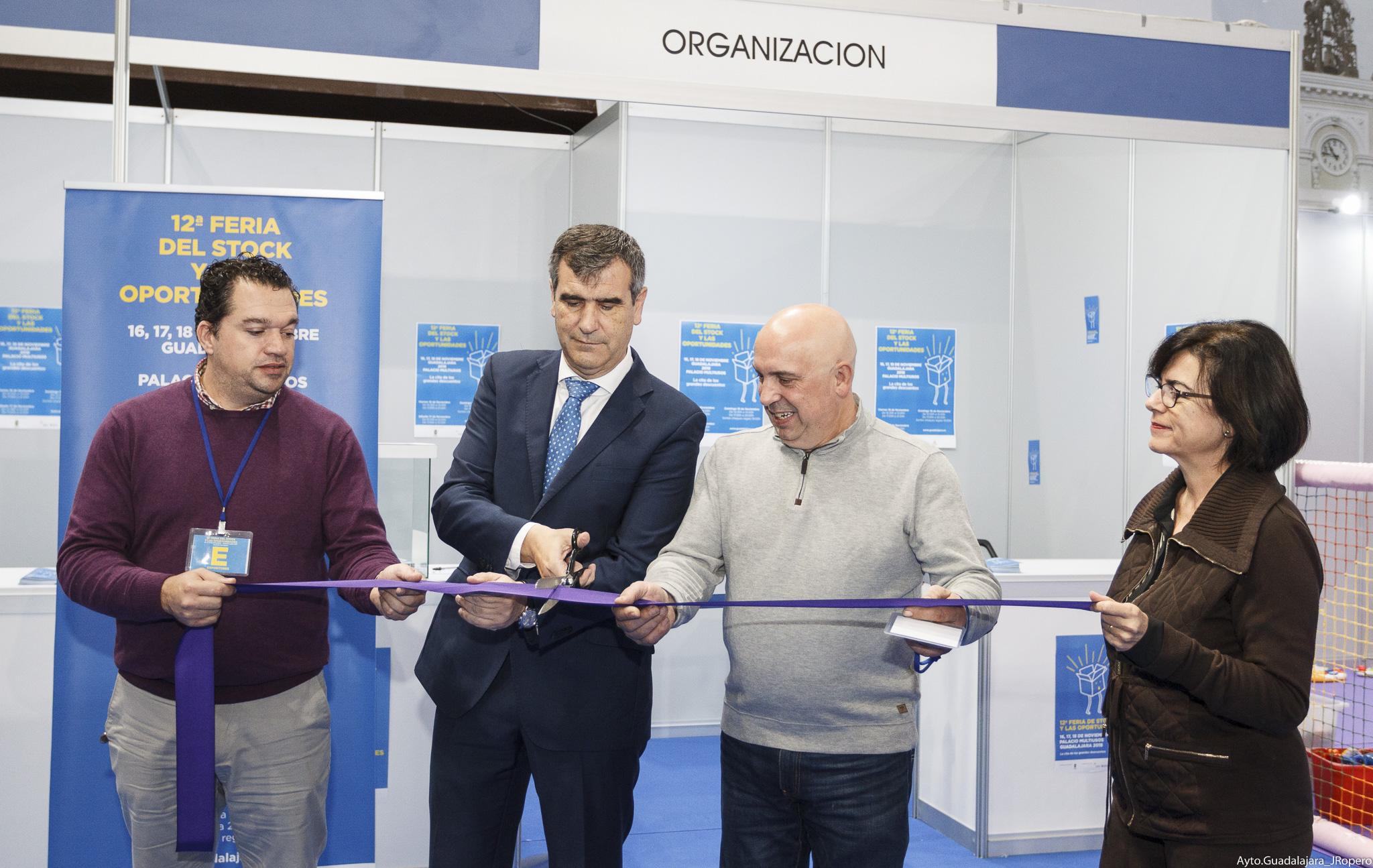 Inaugurada la 12ª Feria del Stock y las Oportunidades
