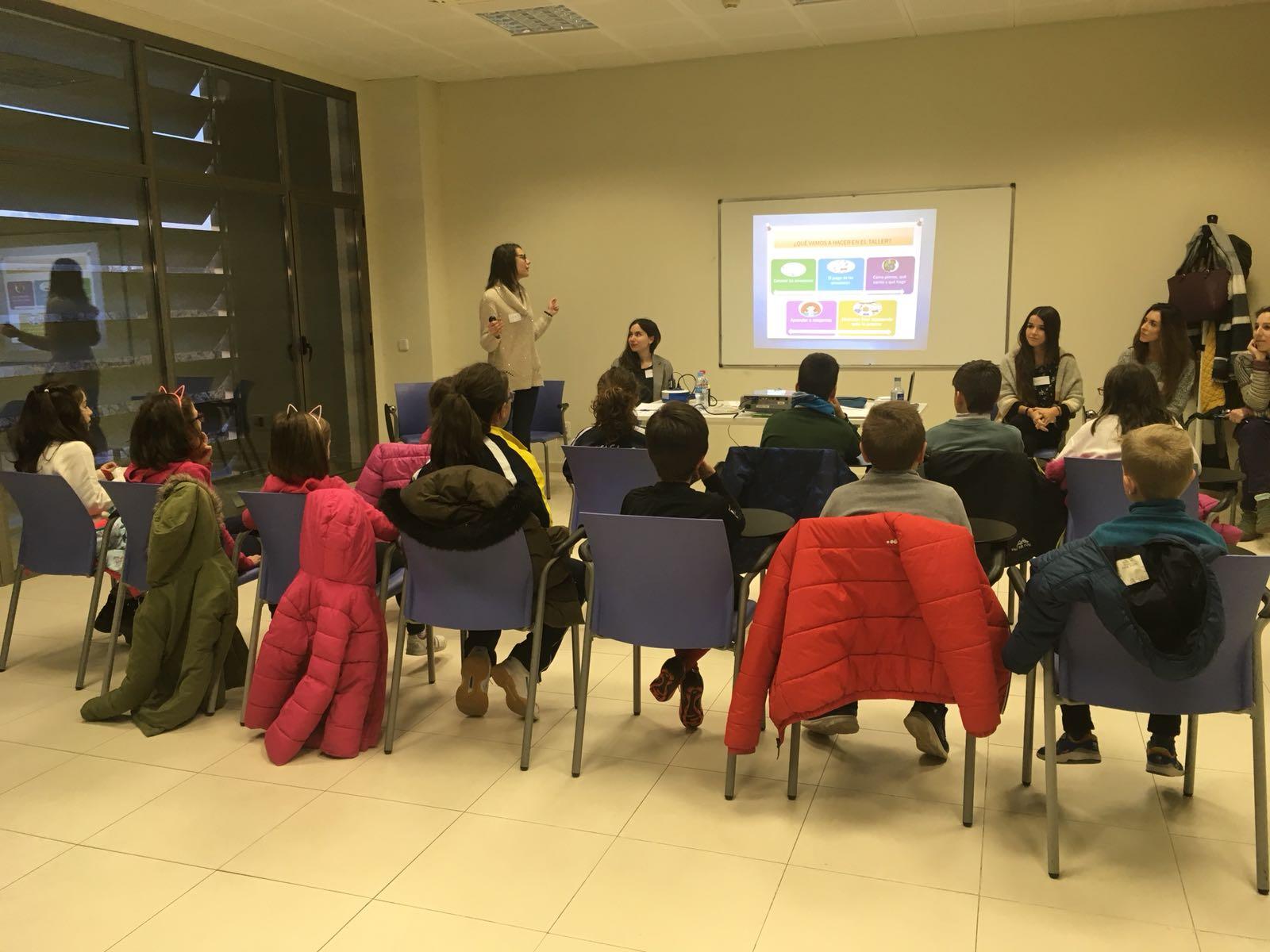 Excelente acogida para  el primer taller de inteligencia emocional para niños y niñas de 8 a 10 años