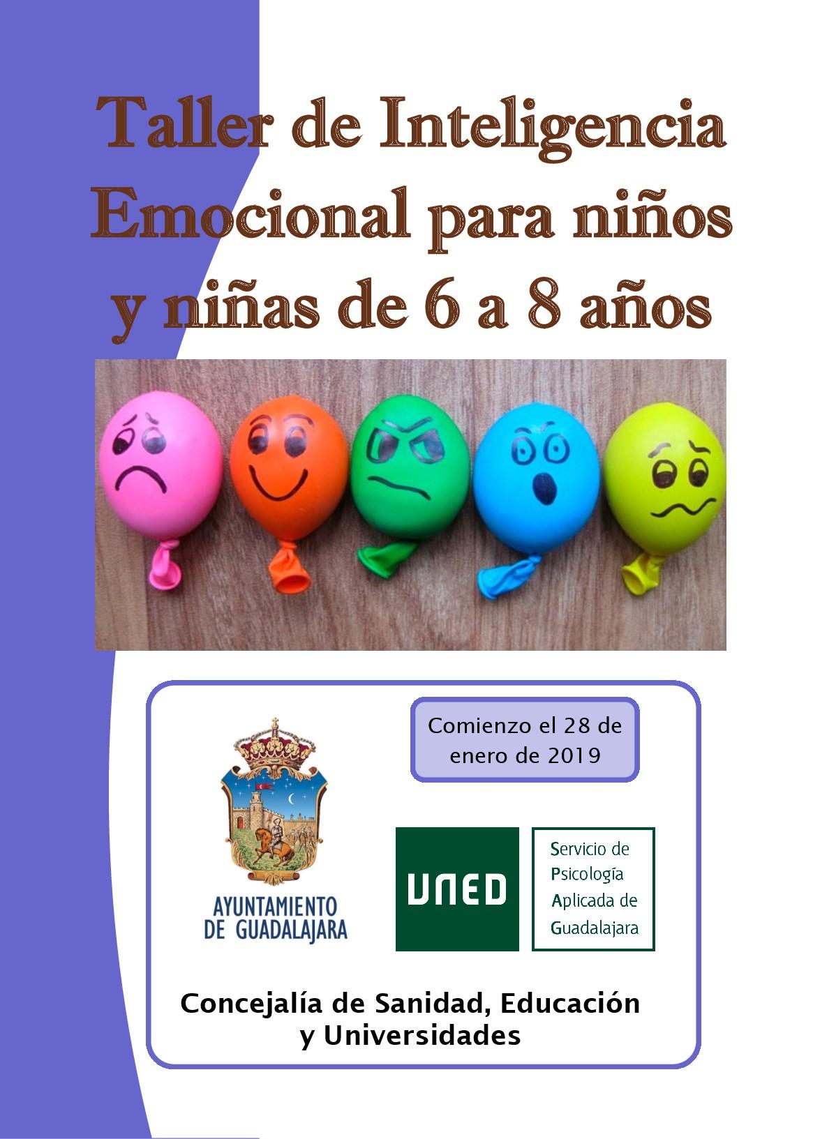 La Concejalía de Educación pone en marcha un taller de inteligencia emocional para niños y niñas de entre 6 y 8 años
