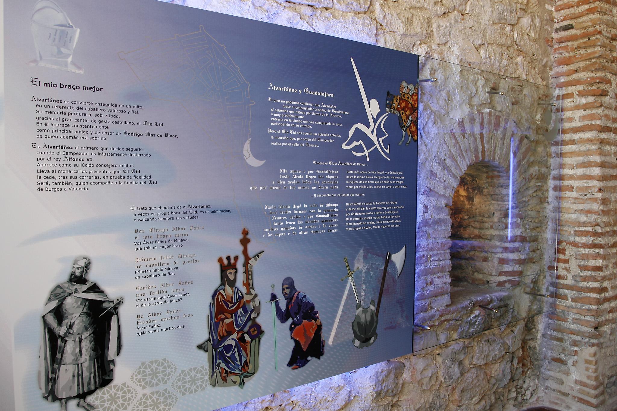 La  reconquista de la ciudad y la legendaria figura de Álvar Fáñez de Minaya, detalle monumental de junio