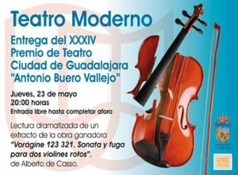 Entrega del XXXIV Premio de Teatro Ciudad de Guadalajara
