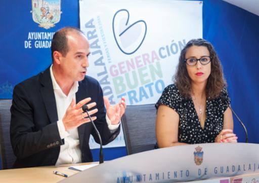 El Ayuntamiento de Guadalajara despliega por primera vez en Ferias y Fiestas una campaña institucional contra cualquier manifestación de violencia de género
