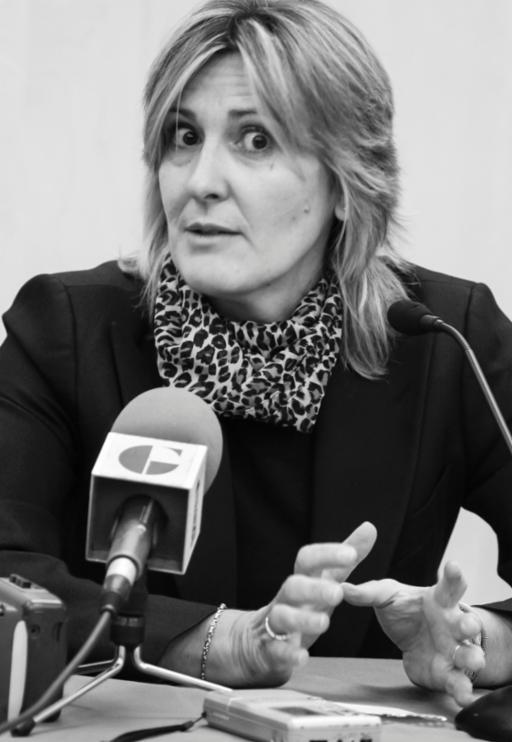 Ana del Campo, histórica periodista del Ayuntamiento de Guadalajara desde hace 38 años, se jubila este viernes