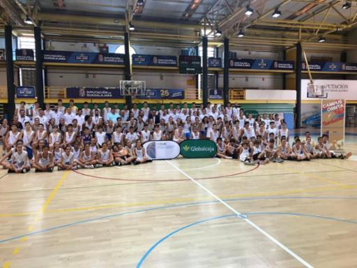 Despedida del II Campus de Baloncesto de la Federación de Castilla-La Mancha