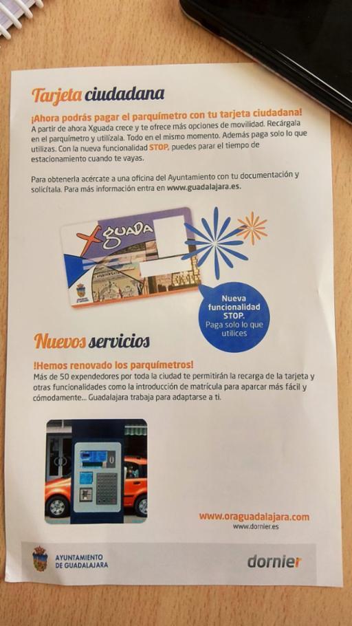 Los vecinos de Guadalajara se ahorrarán la renovación de la tarjeta XGuada