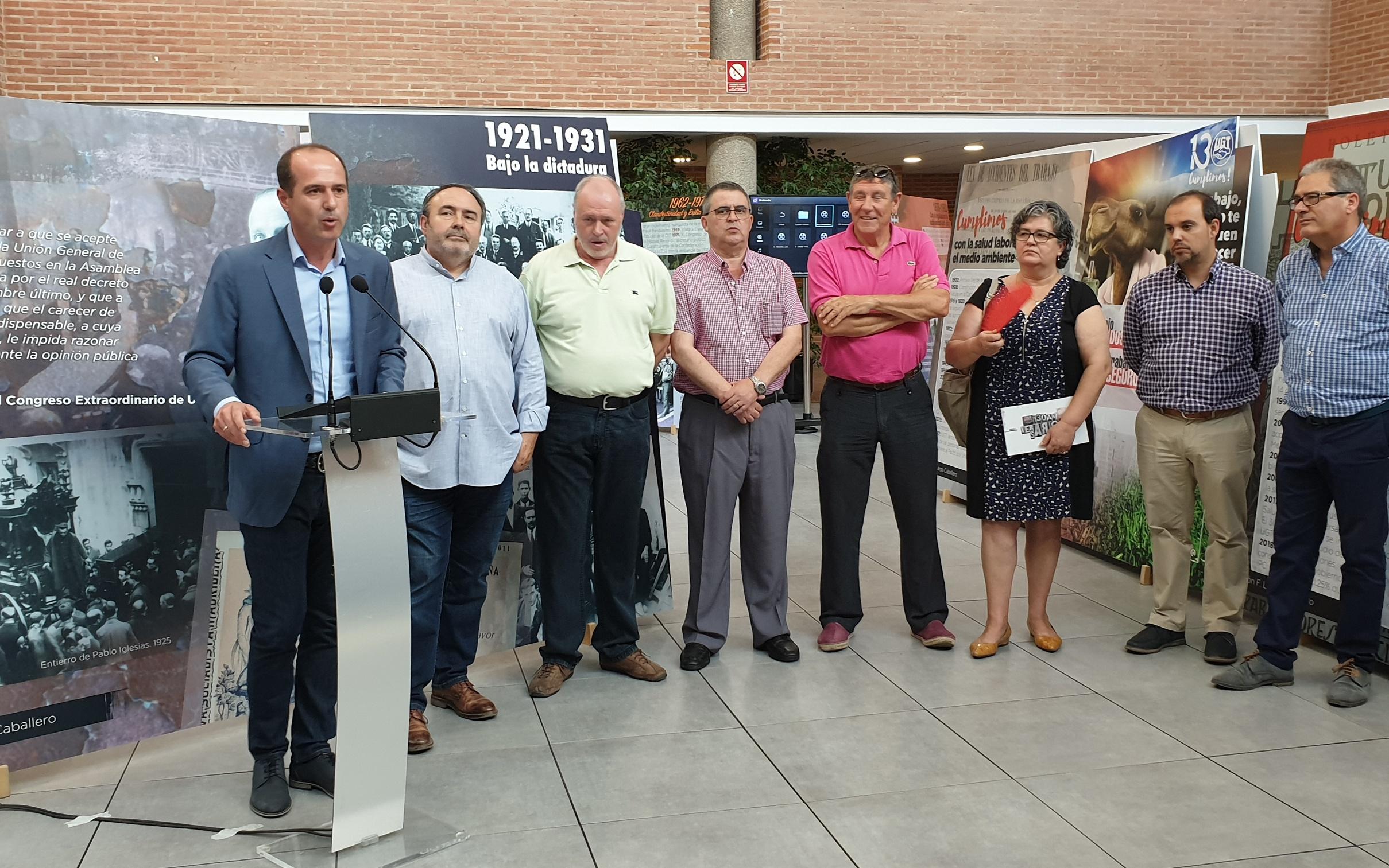 """El Ayuntamiento de Guadalajara contará con una mesa de """"trabajo, diálogo y acción"""" en la que se abordarán cuestiones de empleo con los agentes sociales"""