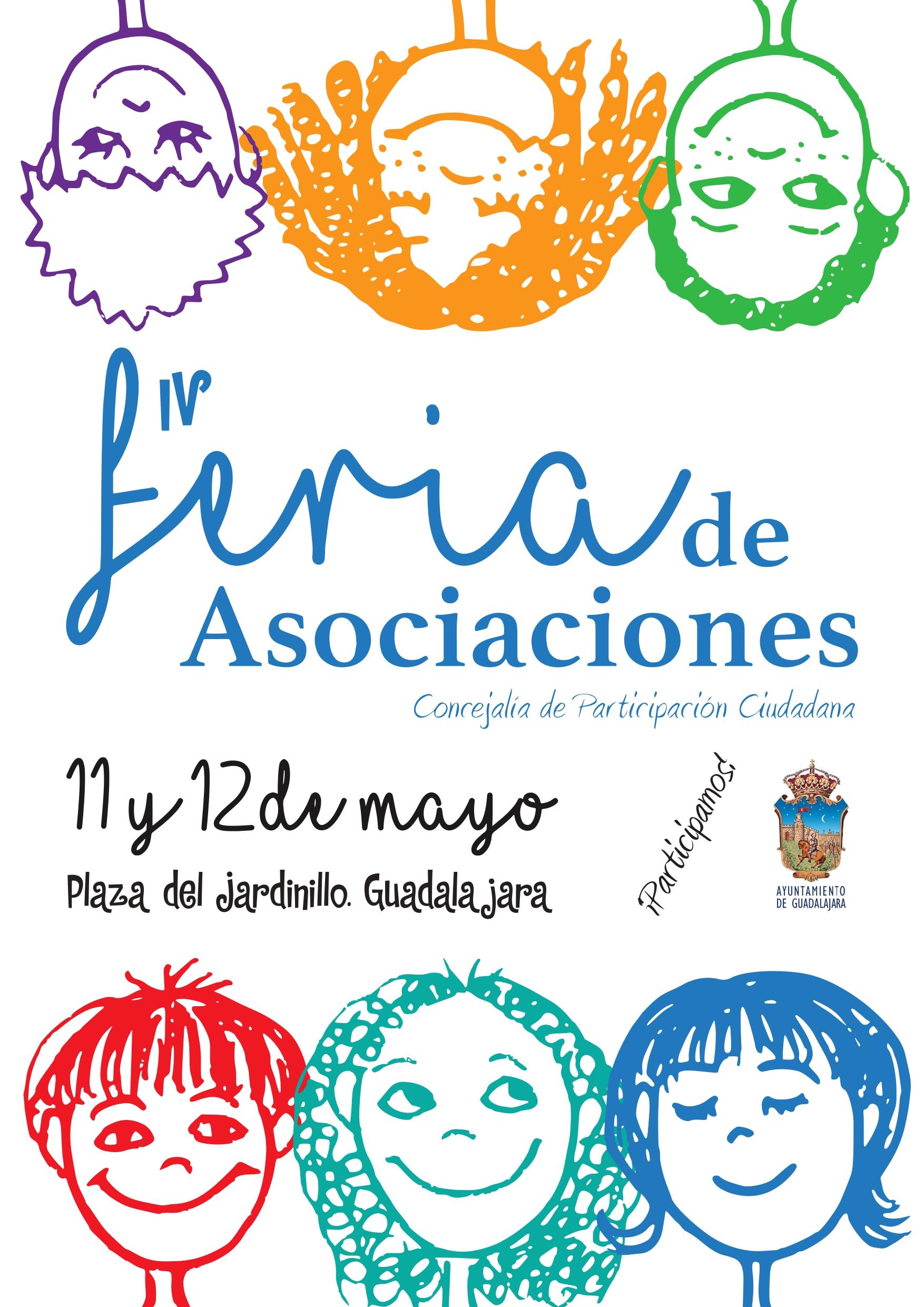 46 asociaciones ciudadanas participan este año en la 4ª edición de la Feria de las Asociaciones
