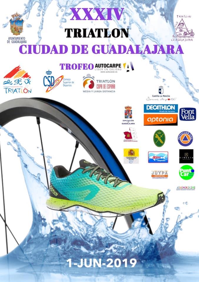 Cortes de tráfico derivados del Triatlón de Guadalajara