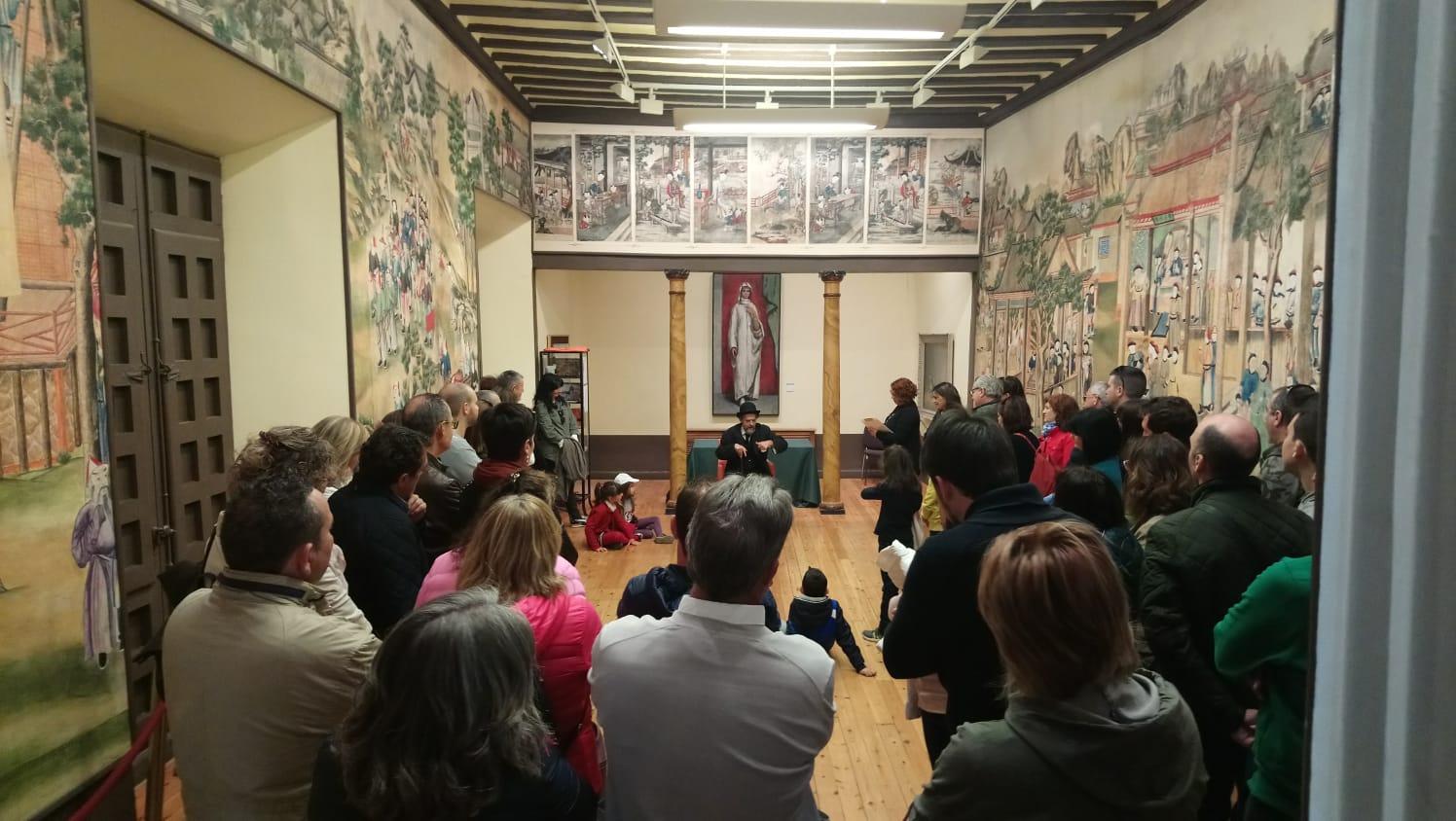 Más de 1.500 personas participaron en las distintas actividades organizadas con motivo del Día Internacional de los Museos