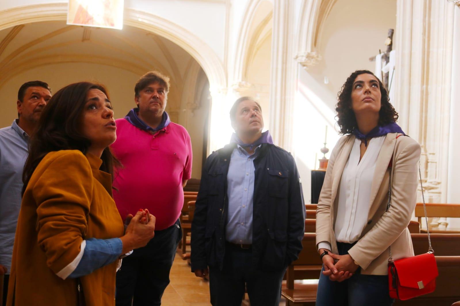 La Concejalía de Turismo trabajará codo con codo con el Ayuntamiento de Pamplona para dar a conocer el patrimonio de Guadalajara