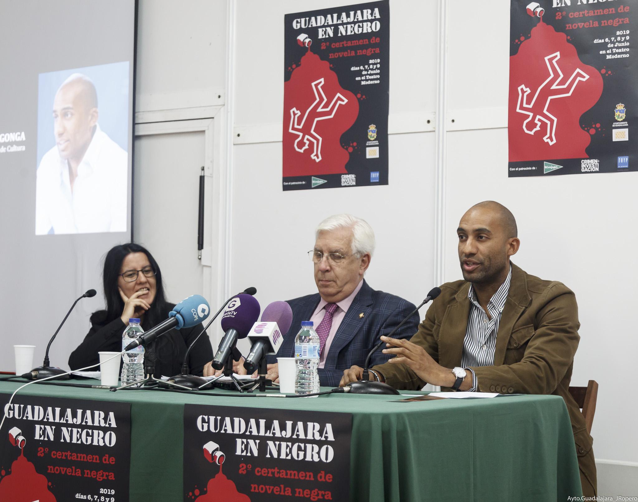 """El II Certamen de novela """"Guadalajara en Negro"""" reunirá en nuestra ciudad a  grandes escritores del género"""