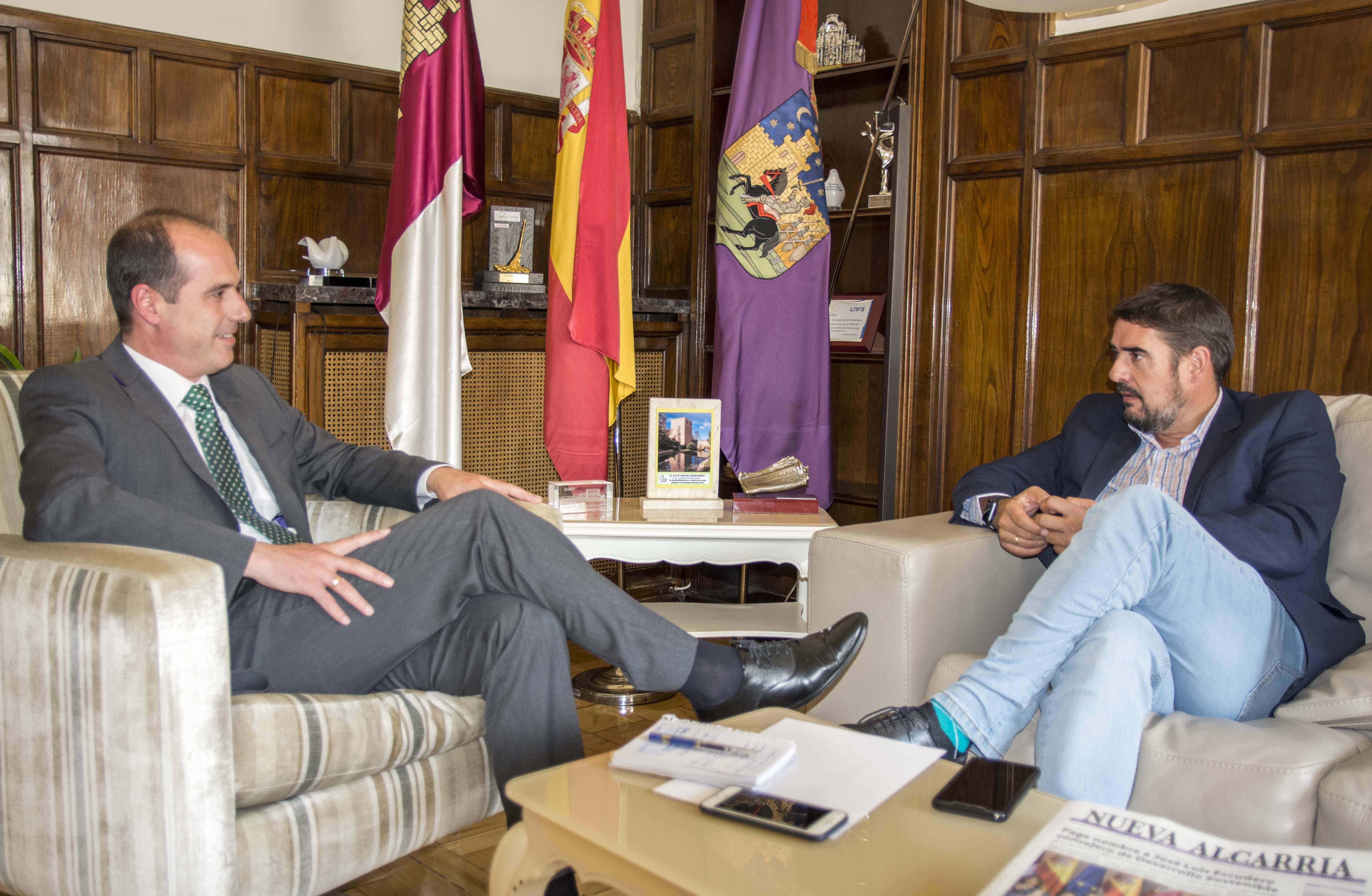 El Ayuntamiento de Guadalajara inicia una nueva etapa de diálogo y colaboración con Marchamalo en busca de un mayor desarrollo