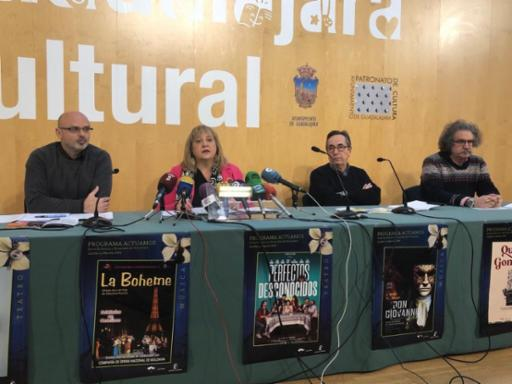 Tres nuevos ciclos culturales marcan la programación de febrero y marzo del Patronato de Cultura