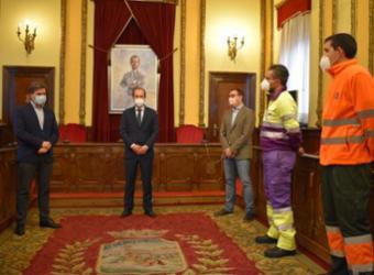 El Gobierno municipal agradece y pone en valor el trabajo realizado por las personas que han combatido el temporal 'Filomena'