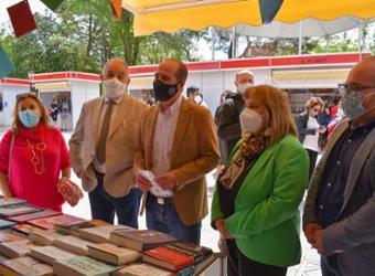 """Alberto Rojo: """"Devolver la Feria del Libro  al parque de La Concordia era una reivindicación que este Gobierno no dudó en atender"""""""