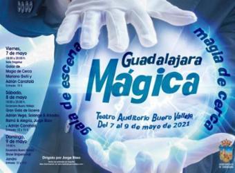 Magia en el Teatro Buero Vallejo. Festival Guadalajara mágica 2021
