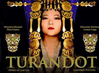 Ópera escenificada - Turandot
